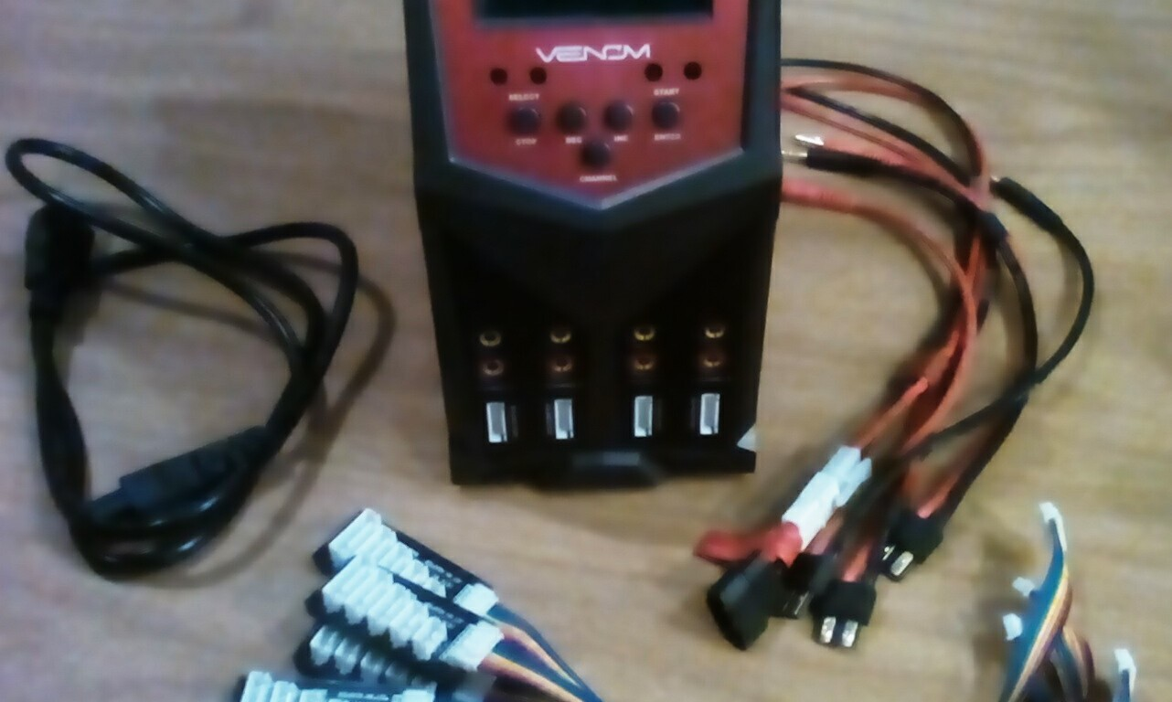 New Venom Pro Quad Battery Charger