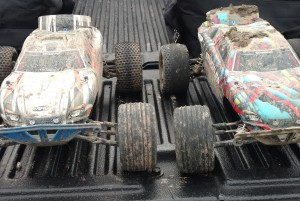 Traxxas Rustlers Dirty after run