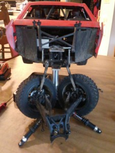 baja rey front end removed