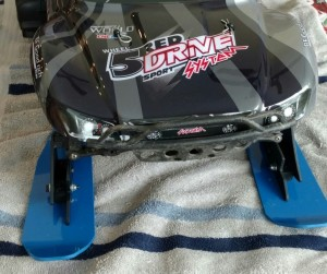 Traxxas slash 2wd winter skis