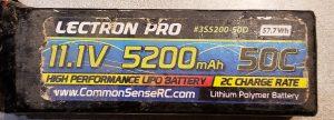 Electron pro 3S 5200mAh