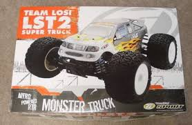Losi Nitro Monster Truck