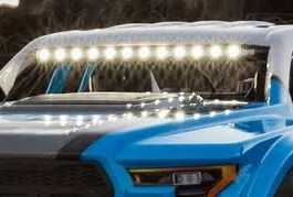 Losi Ford Raptor Baja Rey LED light bar